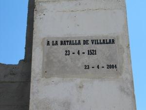 monumento batalla villalar