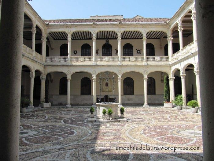 Patio palacio real