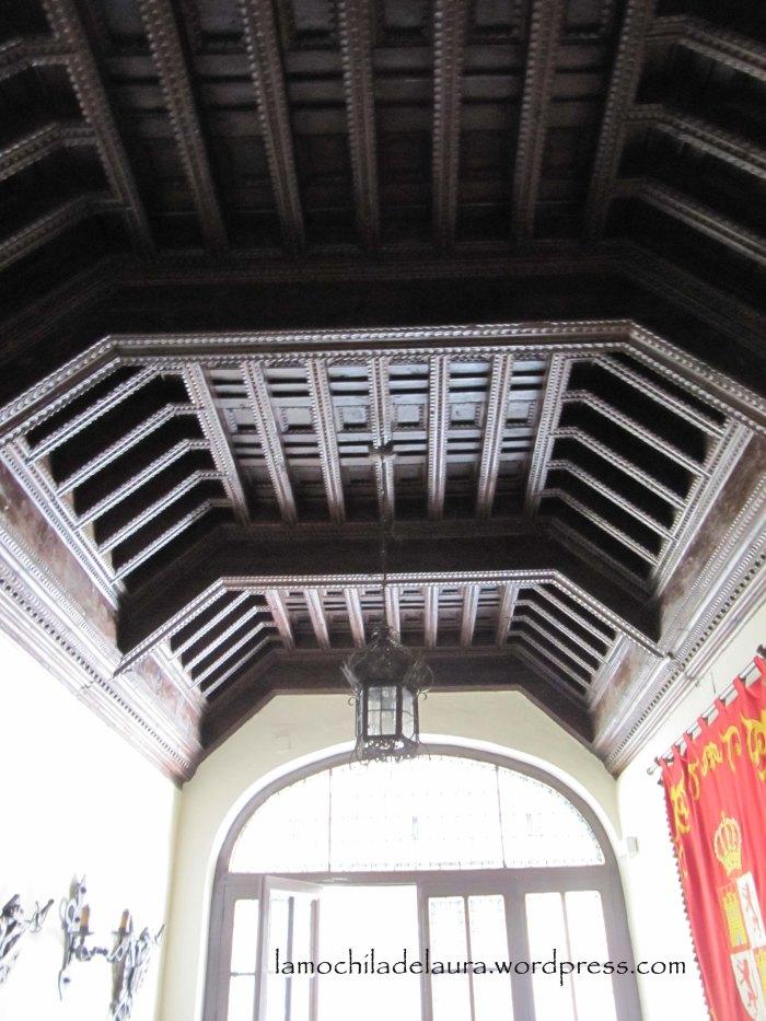 Artesonado palacio real