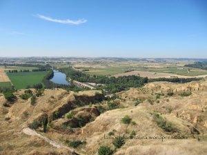 Vistas de la vega del Duero desde Toro