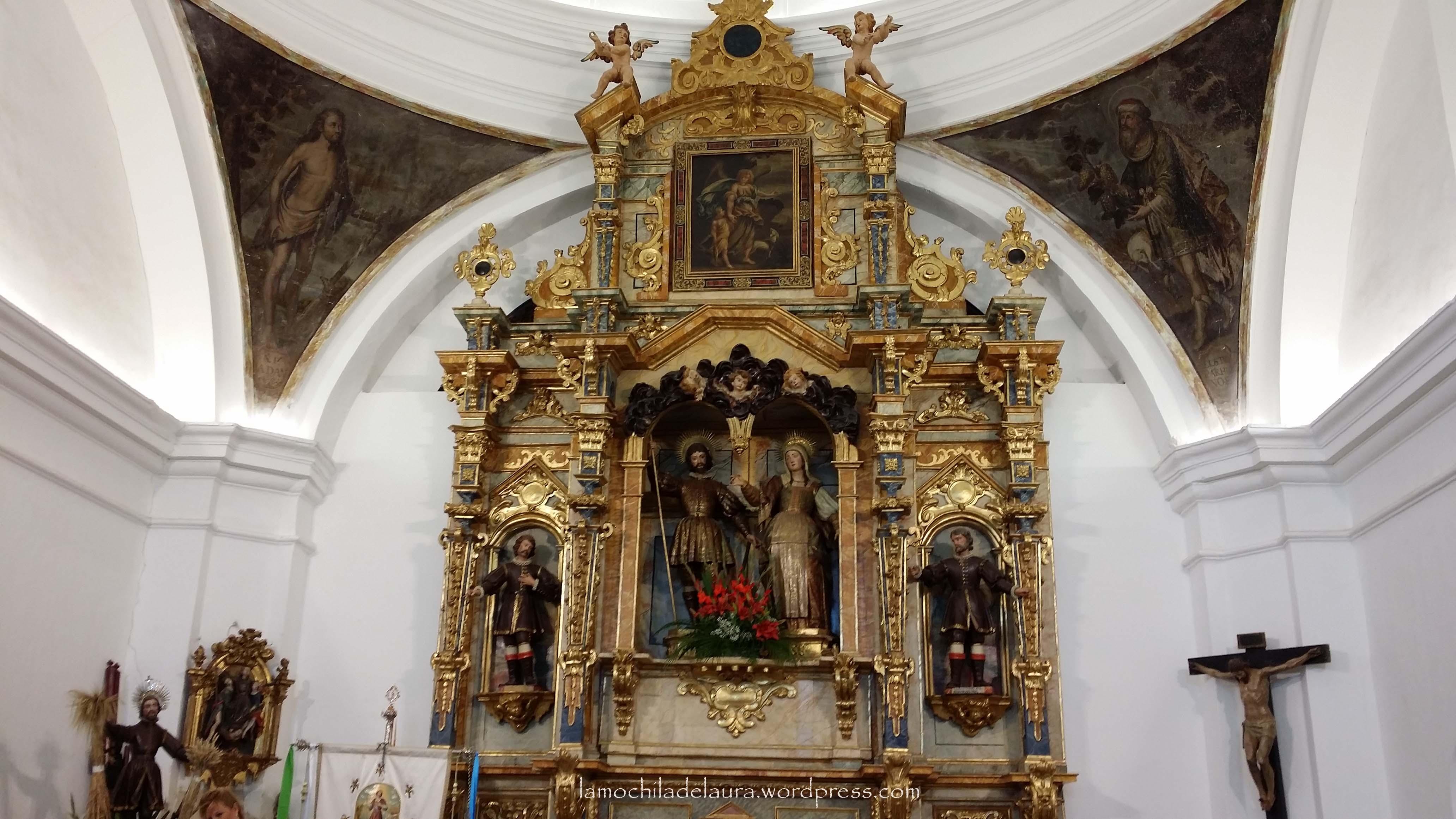Ermita de san isidro de valladolid la mochila de laura for Ministerio del interior san isidro