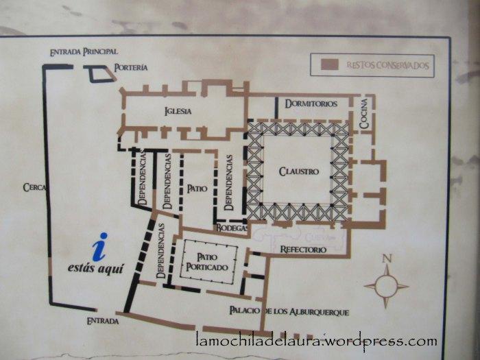 mapa monasterio