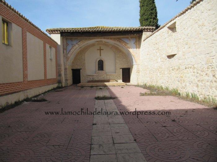 Interior de la ermita de Olmos de Esgueva