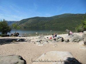 playa lago de sanabria